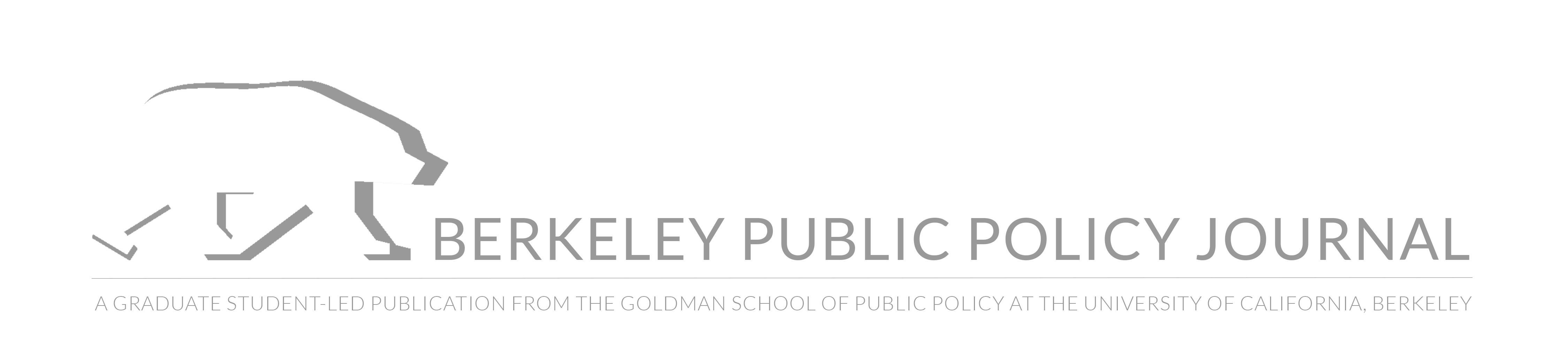 Berkeley Public Policy Journal
